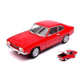 Welly Modellauto Ford Capri 1969 rot 1:24 | Welly