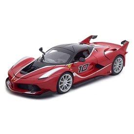 Bburago Modellauto Ferrari FXX K No. 10 rot 1:18 | Bburago