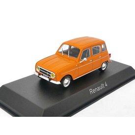 Norev Modelauto Renault 4 1974 oranje 1:43 | Norev