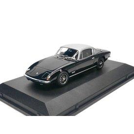 Oxford Diecast Modelauto Lotus Elan +2 zwart/zilver 1:43 | Oxford Diecast