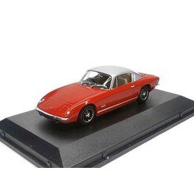 Oxford Diecast Model car Lotus Elan +2 red/silver 1:43 | Oxford Diecast