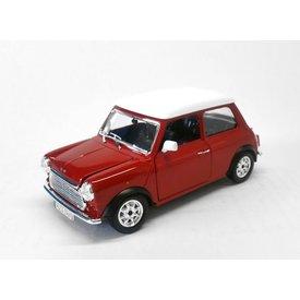 Bburago Model car Mini Cooper 1969 red/white 1:24   Bburago
