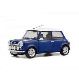 Solido Modelauto Mini Cooper 1.3i Sport Pack blauw/wit 1:18 | Solido