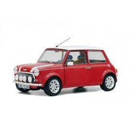 Solido Modelauto Mini Cooper 1.3i Sport Pack rood/wit 1:18 | Solido