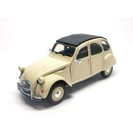 Welly Model car Citroën 2CV cream 1:24   Welly