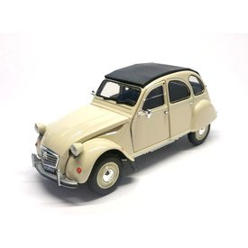 Welly Modellauto Citroën 2CV creme 1:24 | Welly