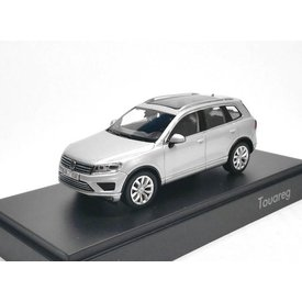 Herpa Modellauto Volkswagen VW Touareg 2015 silber 1:43 | Herpa