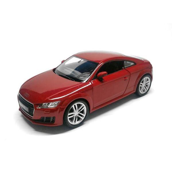 Modelauto Audi TT 2014 rood 1:24   Welly