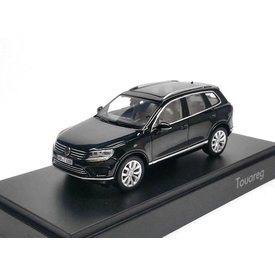 Herpa Model car Volkswagen VW Touareg 2015 black 1:43 | Herpa