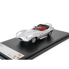 Premium X Model car Jaguar XK SS 1957 silver 1:43 | Premium X