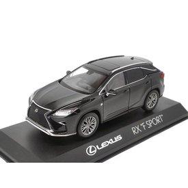Kyosho Modelauto Lexus RX 200t F Sport zwart 1:43 | Kyosho