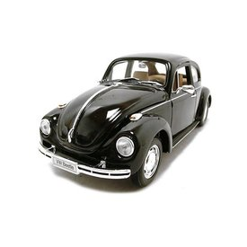 Welly Modellauto Volkswagen VW Käfer schwarz 1:24 | Welly