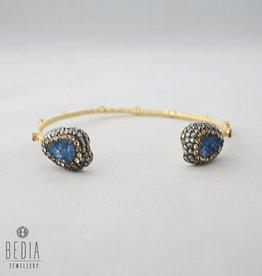 "Bracelet ""Blue drop"""
