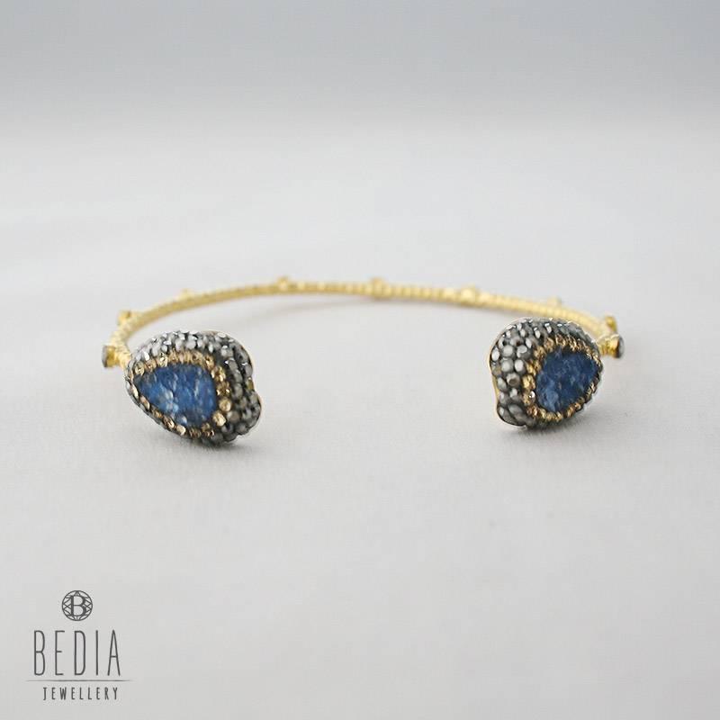 "Armband ""Blue drop"""