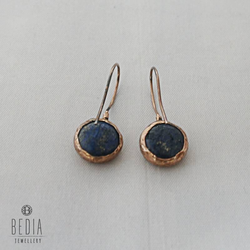 Earrings blue