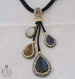 "Necklace ""Statement multicolor"""