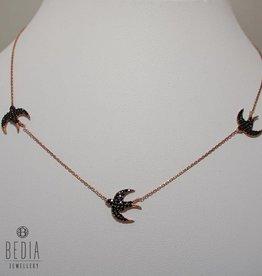 """Free like a bird"" necklace"