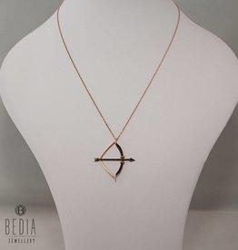 "Necklace ""Bow & Arrow"""