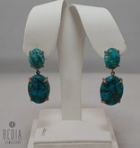 """Earrings """"Gorgeous Turquoise"""""""