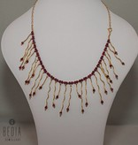 "Necklace ""Ruby"""