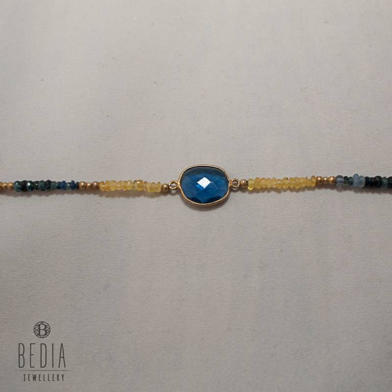 vintage en silver bracelet del stone mexico rio and products blue hecho sterling earrings