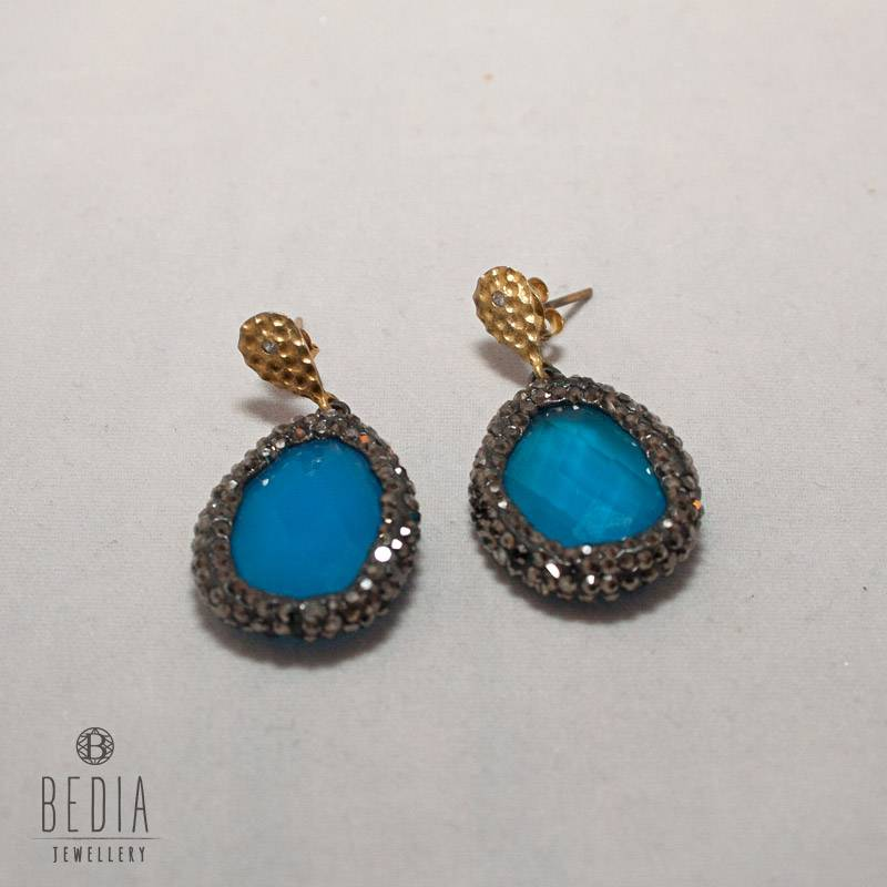 """Earrings """"Blue Drop"""""""
