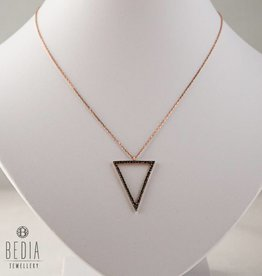 """Open Triangel"" necklace"
