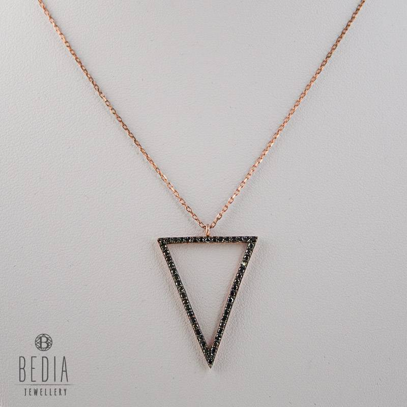 """Open Triangel"" ketting"