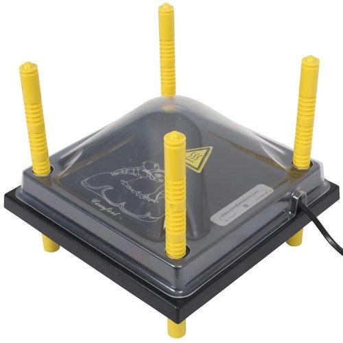 Comfort Afdekkap voor warmteplaat 25x25cm