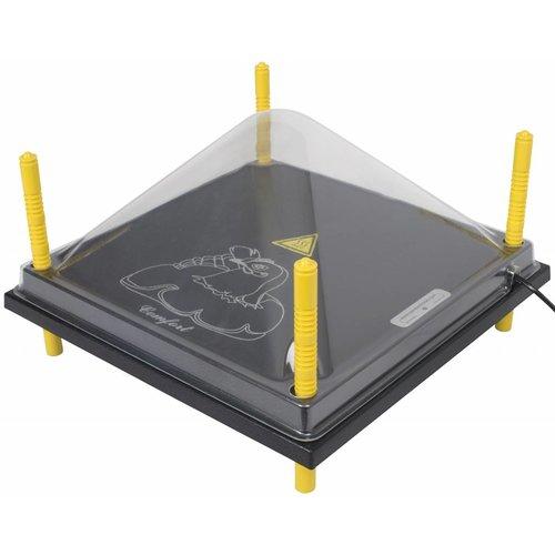 Comfort Afdekkap voor warmteplaat 40x40cm