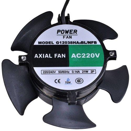 Powerfan Ventilator 120mm zonder behuizing blazend
