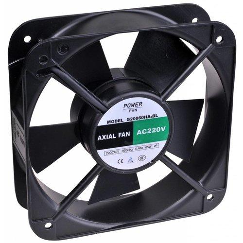 Powerfan Ventilator 180x180x65 mm met kogellagers