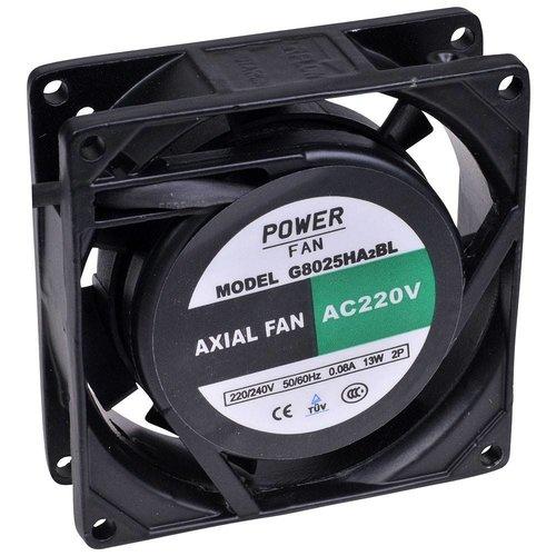 Powerfan Ventilator 80x80x25 mm met kogellagers