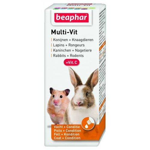 Beaphar Multi-Vit voor knaagdieren 20 ML
