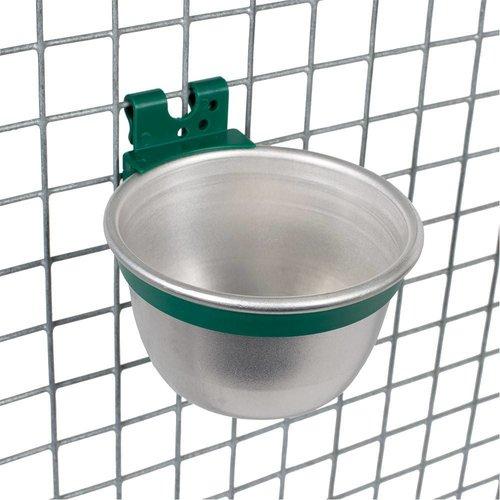 JUNAI Aluminium voer / drinkbakje