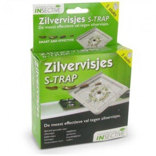 Insective Zilvervisjes val - 5 stuks