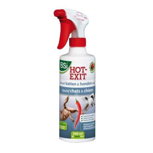 BSI Hot-Exit katten en honden verjager 500 ml