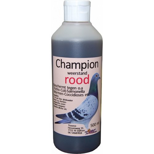 Traseco Champion weerstand rood
