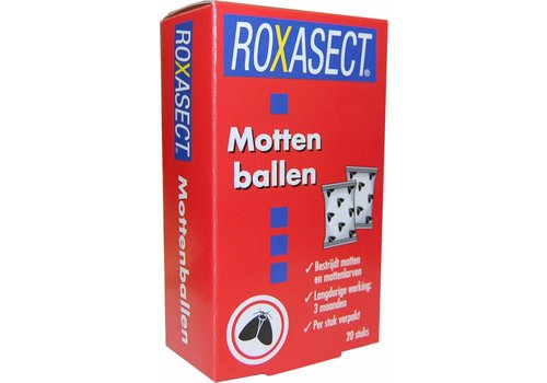 Roxasect Mottenballen 20 stuks