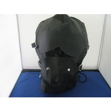 bondage style bdsm masker met afneembare ballgag