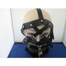 bondage style bondage masker leer open model