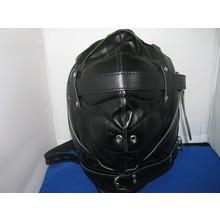 bizarre leather slaven masker totally mute