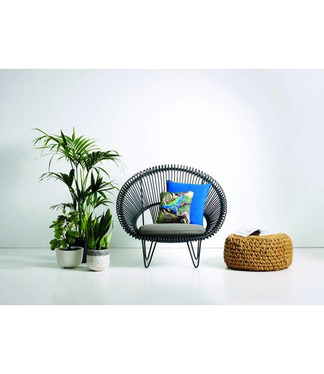 Vincent Sheppard Roy Cocoon lounge  - Zwart