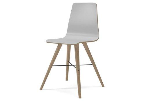 Bolia Beaver laminate- dining chair - White oiled Oak/White