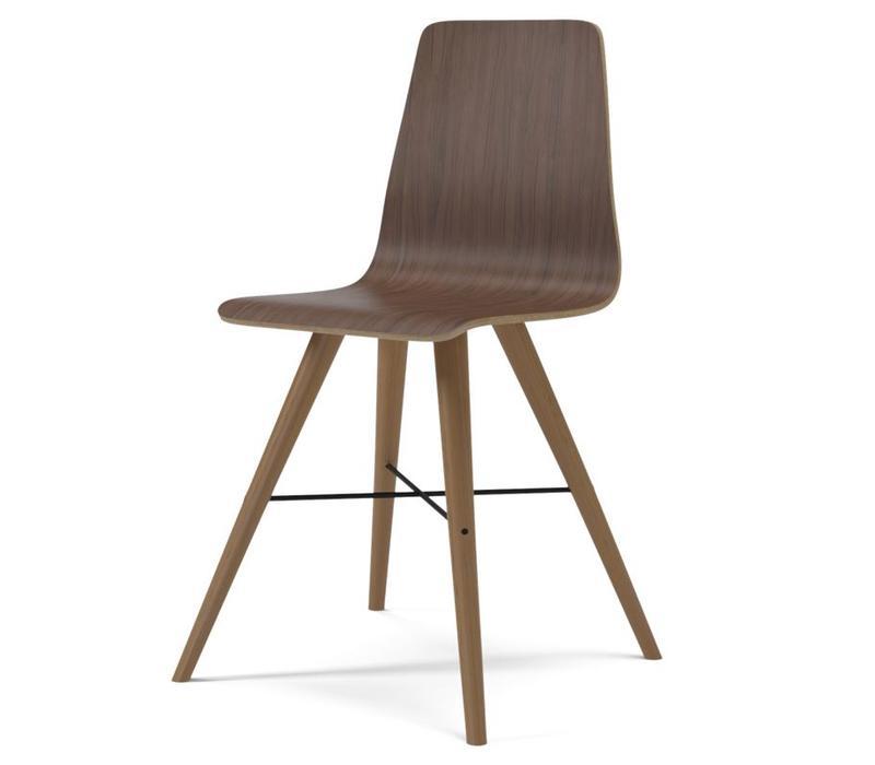 Beaver veneer dining chair