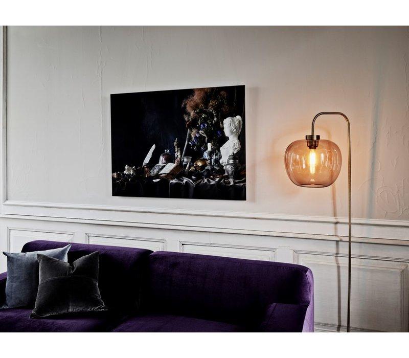 Grape Floorlamp - Brass
