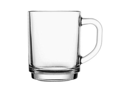 Koffie-/ Theeglas 25cl Stapelo Budgetline ( Set van 12 )