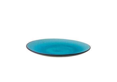 Asia Bord Ø21cm Turquoise ( Set van 6 )