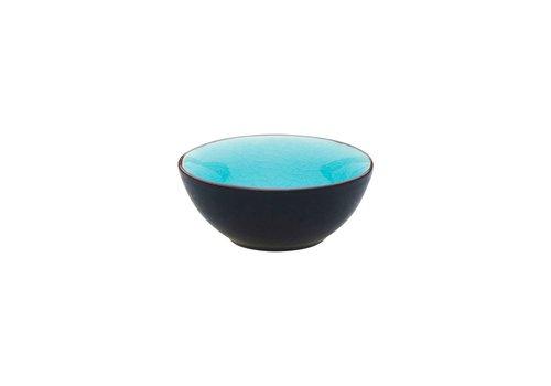 Asia Schaaltje Ø9cm Turquoise ( Set van 12 )