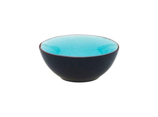 Palmer Asia Schaaltje Ø9cm Turquoise ( Set van 12 )